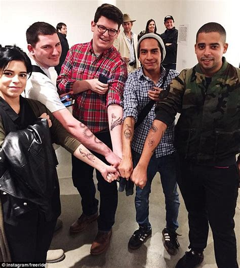scott campbell gives new yorkers surprise tattoos through