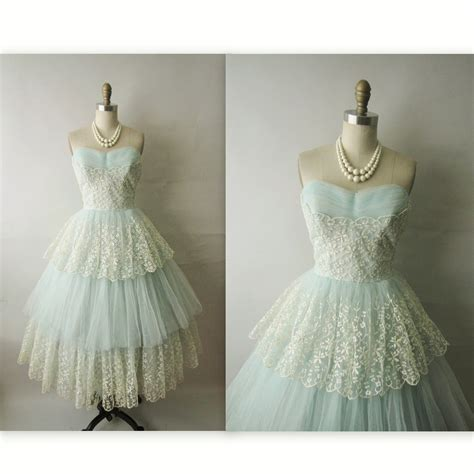 vintage 50s prom dresses prom 50 s prom dress vintage 1950 s embroidrered by