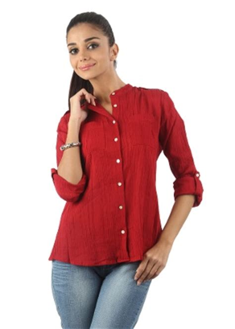 Rodeo Blouse Polos Khaki shirt womens is shirt