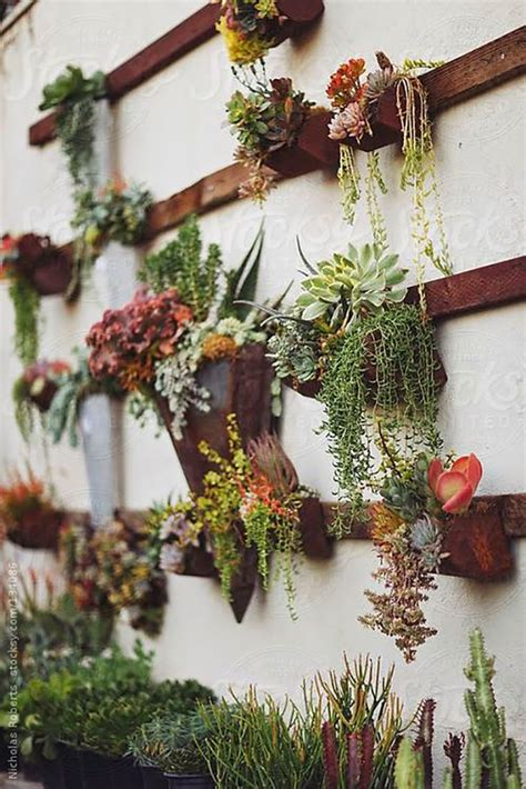 Diy Roundup 10 Clever Diy Wall Decor Ideas Garden Wall Hanging Baskets