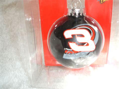 dale earnhardt sr christmas glass ball ornaments dale earnhardt 3 tree glass ornament racing nascar