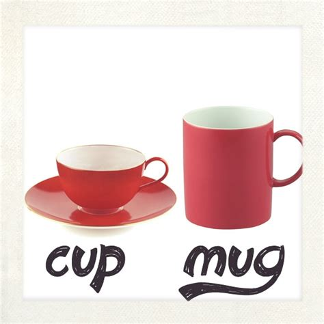 what is a cup difference between cup and mug best coffee mugs