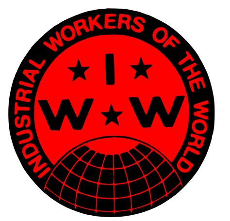 wobblies of the world a global history of the iww wildcat books file industrial workers of the world union label svg