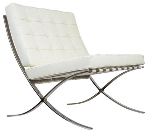 barcelona bench reproduction barcelona chair reproduction aniline leather ivory