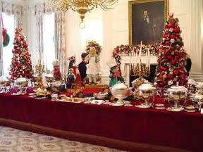 Holiday Buffet Table Decorating Ideas Buffet Tablescapes Buffet Table At The White House
