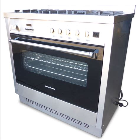 Oven Europa grand fan forced 90cm free standing gas oven