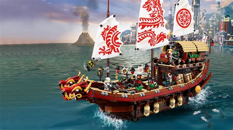 lego ninjago boat 70618 destiny s bounty the lego 174 ninjago 174 movie