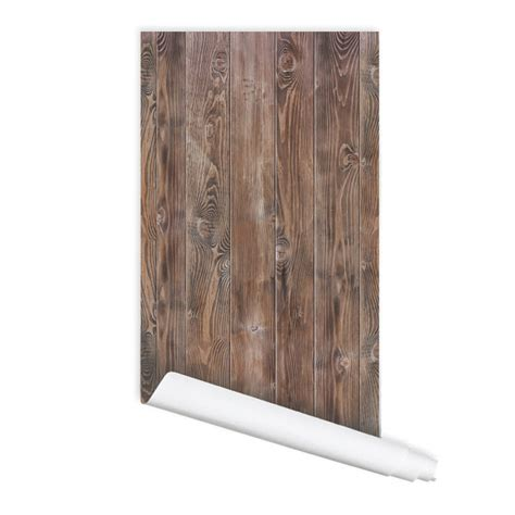 stick on wood wall wood pattern 01 peel stick repositionable fabric wallpaper