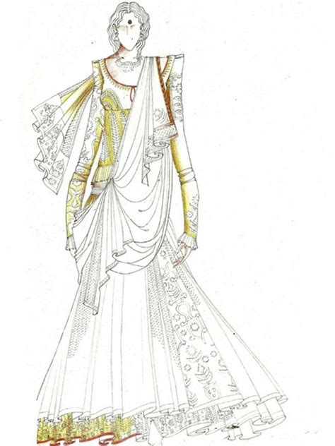 fashion illustration in india 78 images about indian dress sketches on