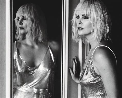 More Fashion Photography In W Magazine August 07 Issue by W Magazine Charlize Theron By Alasdair Mclellan Image