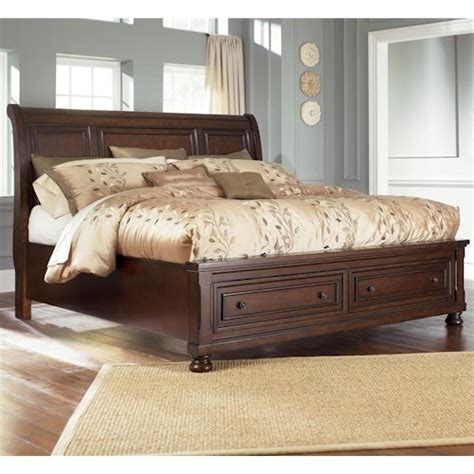 ashley furniture porter king sleigh bed northeast