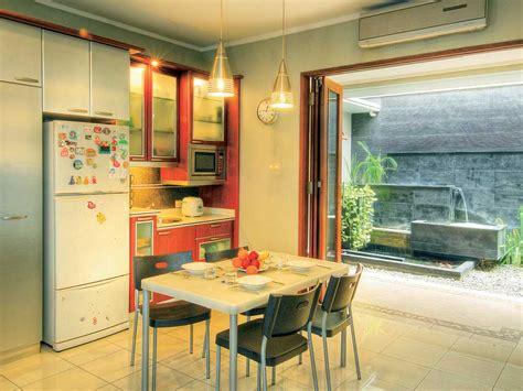 desain dapur  ruang makan terbuka  kolega