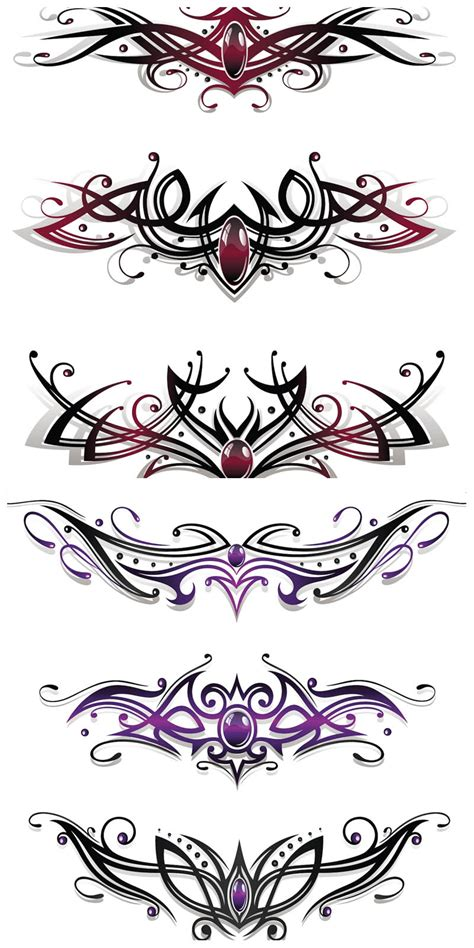 tattoo designs vector ornate templates vector vector graphic freebies