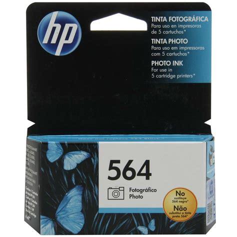 Tinta Hp 564 Color cartucho de tinta fotogr 225 fico hp 564 cb317wl preto cartuchos no pontofrio