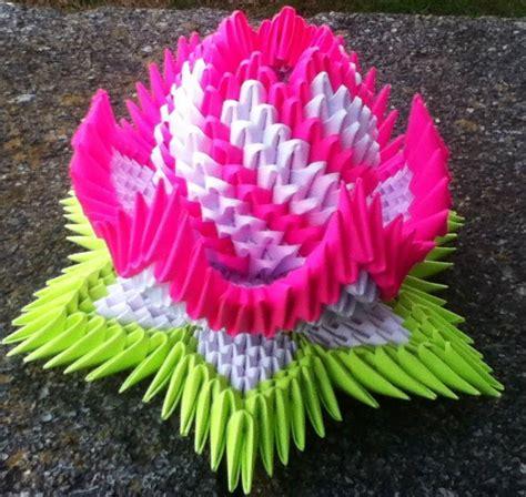 3d Origami Lotus - lotus album ricardo 3d origami