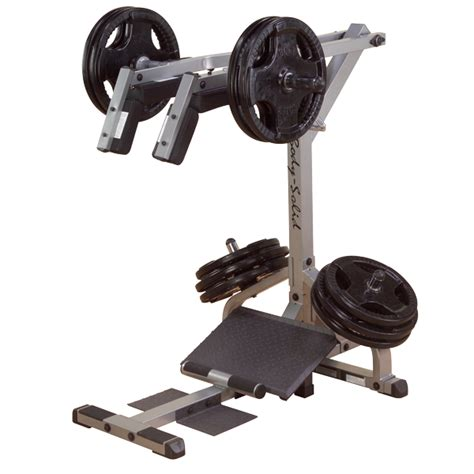 gscl360 solid leverage squat calf machine