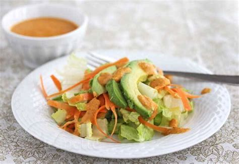 japanese onion ginger and carrot salad dressing japanese carrot ginger salad dressing recipe power foods