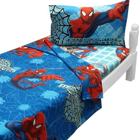 marvel toddler bedding ultimate spider man twin sheet set marvel bedding