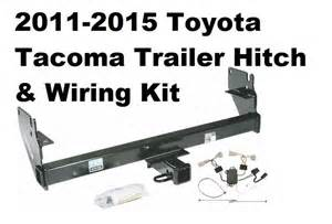 2011 2015 toyota tacoma trailer hitch w wiring kit no