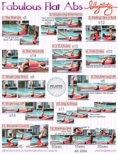 fabulous flat abs printable do this workout to get that
