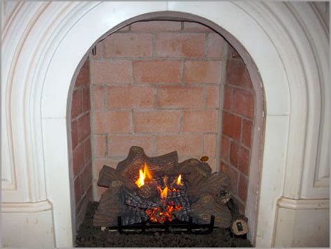 Gas Fireplace Log Cleaner by Gas Log Fireplace Cleaning Fireplaces