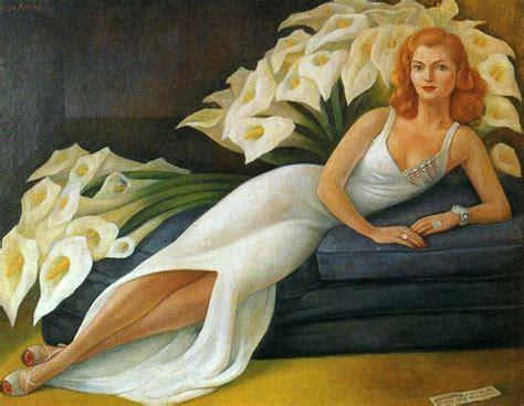 Mario Wall Mural portrait of natasha gelman 1943 by deigo rivera