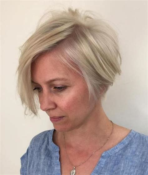 short asymmetrical bobs for women over 50 90 classy and simple short hairstyles for women over 50