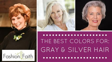 what color should of the wear what color should i wear if i gray hair shari