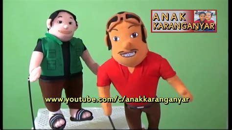 Boneka Sopo Jarwo Sepasang belajar bernyanyi bersama boneka sopo jarwo