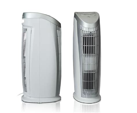 alen t500 tower air purifier with hepa filter for allergies and dust ebay