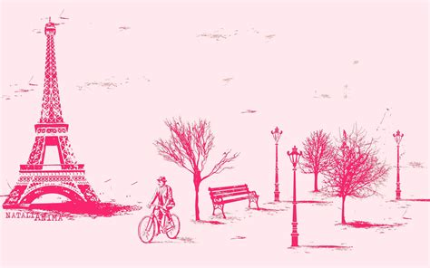 Purple And Pink Bedroom paris in pink wallpaper wallpapersafari