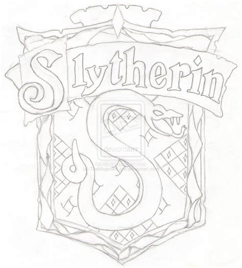 harry potter coloring pages slytherin slytherin crest coloring page coloring pages