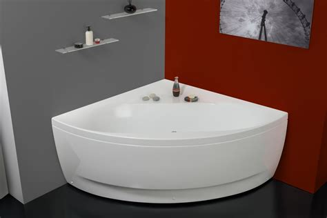 Smallest Bathtub Available by Aquatica Wht Small Corner Acrylic Bathtub