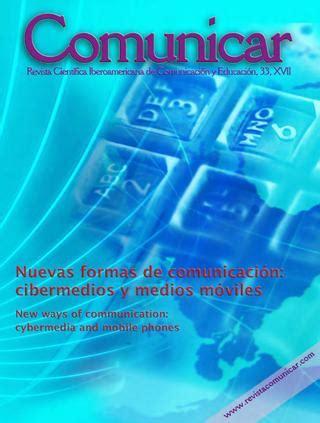 revista digital i e investigaci n y educaci n issuu revista comunicar 33 cibermedios y medios m 243 viles