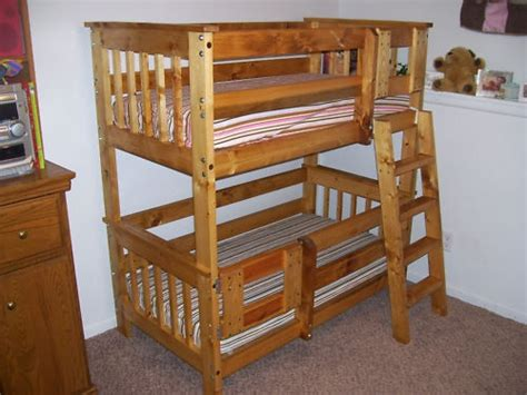 toddler bunk bed plans to build toddler size bunk beds