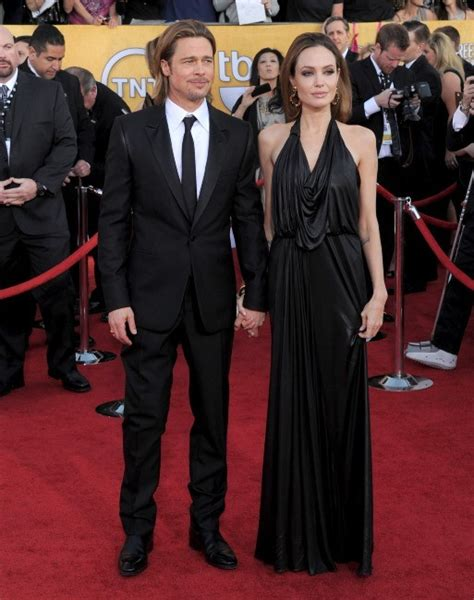 Pitt To Skip Sag Awards by Photos Brad Pitt Et Un Chic Et