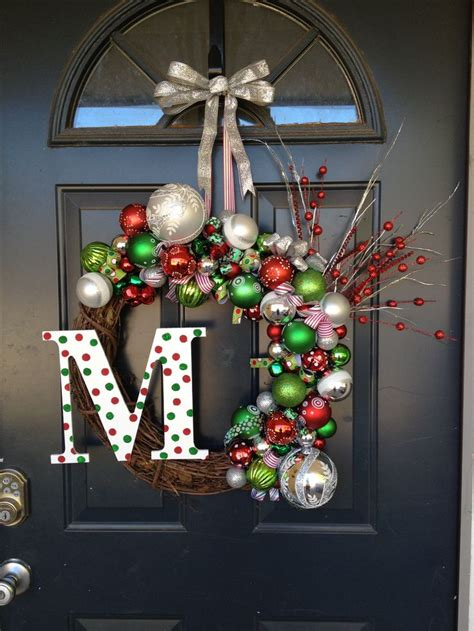 front door christmas wreath possibility christmas
