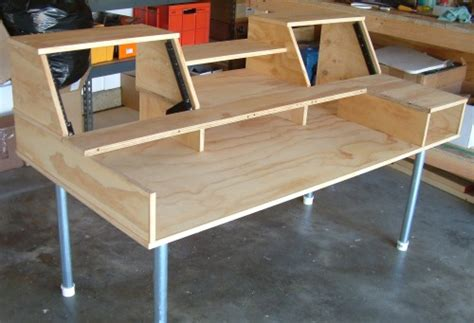Build Your Own Studio Desk by Building Own Studio Furniture Harmony Central