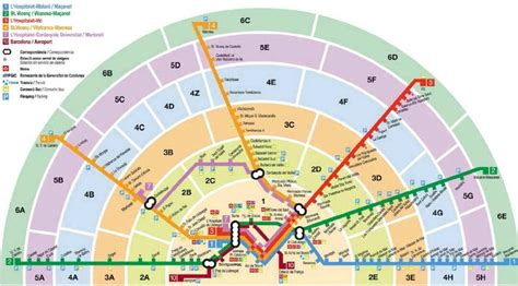 Barcelona Zone 1 Map | barcelona transport trains buses metro and more