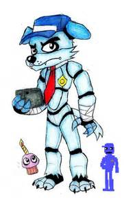 Fnaf mike schmidt animatronic by bluewolfavenger on deviantart