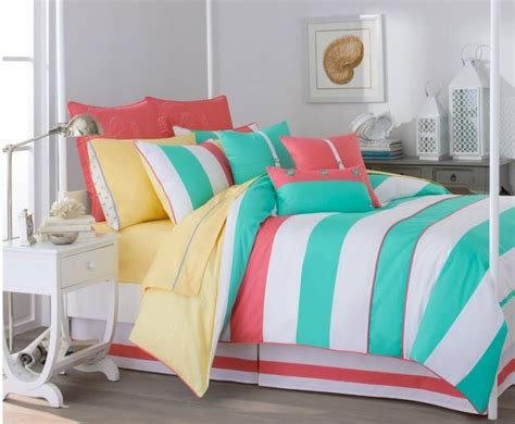 aqua and coral bedding turquoise and coral bedding choozone for the home
