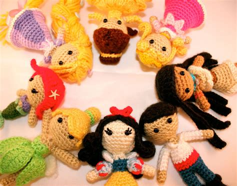 amigurumi disney the crochet dork yarn she sell dısney prıncess