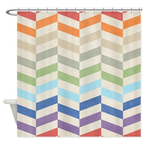 zig zag pattern curtains pretty zigzag pattern shower curtain by bestshowercurtains