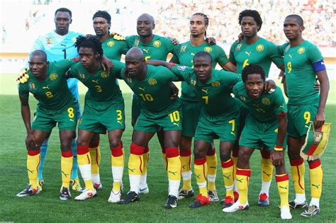 Kaos Cameroon Original Worldcup solana s football shirt collection cameroon 2010 11 home kit limited edition