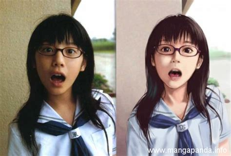 do you prefer anime or real life in these 19 portraits