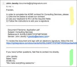 email customization craft rightsignature emails to fit your business rightsignature