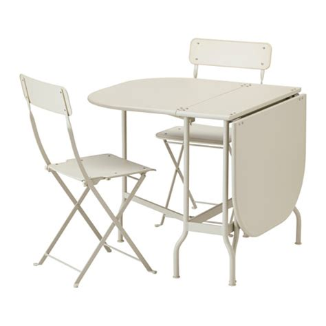 Ikea Folding Table And Chairs Saltholmen Table And 2 Folding Chairs Outdoor Ikea