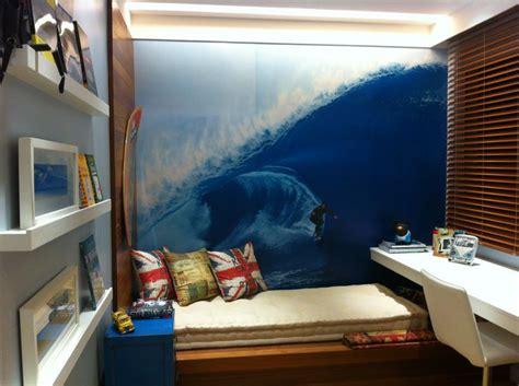 decoração quarto solteiro muito pequeno quarto surfista surfer s room marina pecegueiro