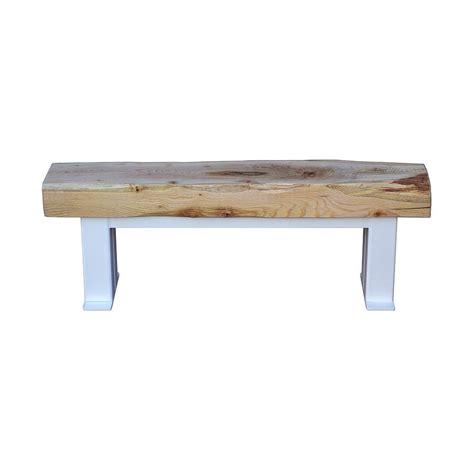 furniture three rustic wood dining benches in budget