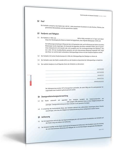 kaufvertrag haus notar kaufvertrag haus bzw bebautes grundst 252 ck mit auflassung